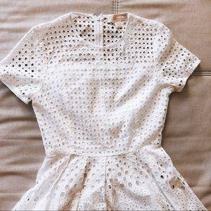 Embroidery Eyelet Dress